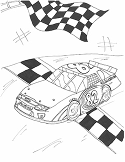 Dylan Martin Official Coloring Pages